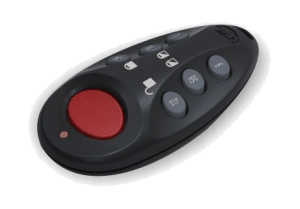 fixed or remote panic buttons or fobs