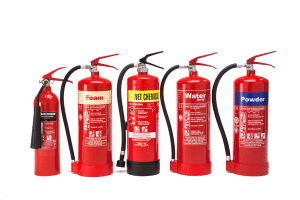 fire extinguisher range